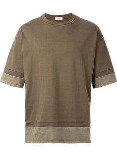 футболка с многослойным подолом En Route