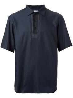 футболка-поло с панельным дизайном En Route
