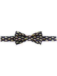 галстук-бабочка с принтом автомобилей Fefè