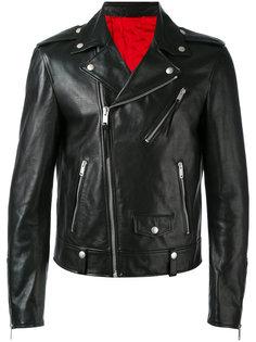 байкерская куртка Alexander McQueen