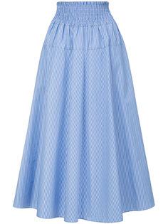 расклешенная юбка в полоску Le Ciel Bleu