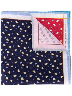 нагрудный платок с принтом птиц Fefè