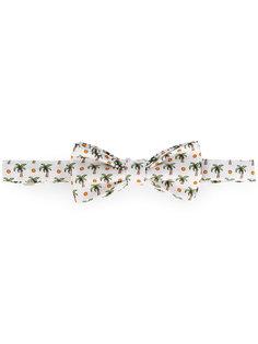 галстук-бабочка с принтом пальм Fefè