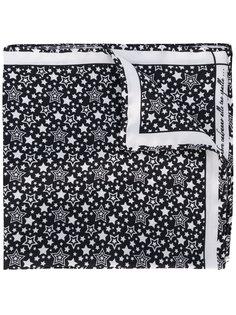 нагрудный платок с принтом звезд Fefè