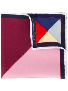 нагрудный платок с геометрическим узором Fefè