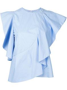 блузка с рюшами Le Ciel Bleu