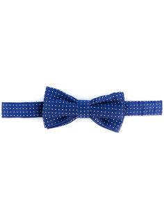 галстук-бабочка с узором в горох Fefè