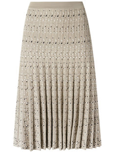 knit skirt Egrey