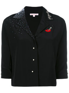 shirt with sequin appliqué Olympia Le-Tan