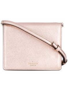 metallic crossbody bag Kate Spade