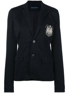 embroidered emblem blazer  Ralph Lauren