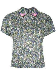 floral print shirt Olympia Le-Tan