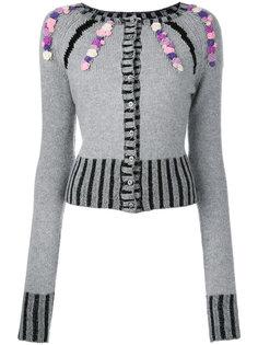 embellished cardigan Olympia Le-Tan