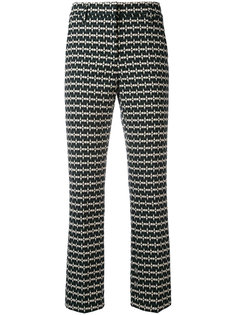 printed cropped trousers Dorothee Schumacher