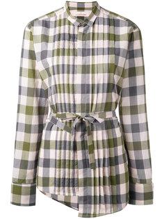 asymmetric checked shirt A.F.Vandevorst