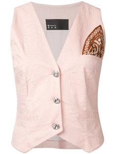 пиджак с нашивкой N Duo