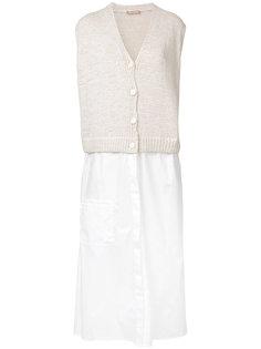 платье с контрастным верхом Nehera