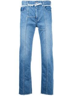 джинсы с передними швами Christian Dada