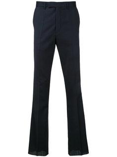 брюки с легким клешем Raf Simons