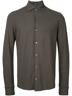 однотонная рубашка  Drumohr