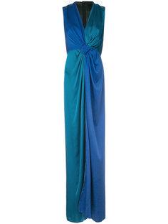 платье с драпировкой  Paule Ka