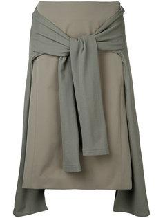 многослойная юбка А-образного силуэта En Route