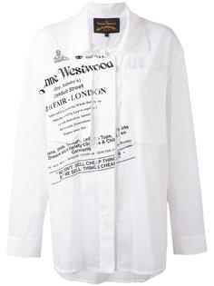 рубашка с графическим принтом Vivienne Westwood Anglomania