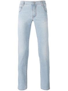 выбеленные джинсы кроя слим Ermanno Scervino