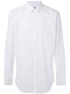 рубашка с нашивкой на спине Fendi