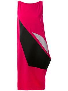 платье с асимметричной вставкой  Issey Miyake