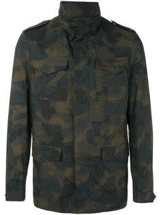 куртка с камуфляжным принтом Etro