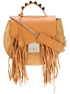сумка-тоут с бахромой Salar