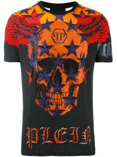 футболка с черепом Philipp Plein