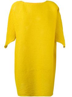плиссированное платье шифт Issey Miyake Cauliflower