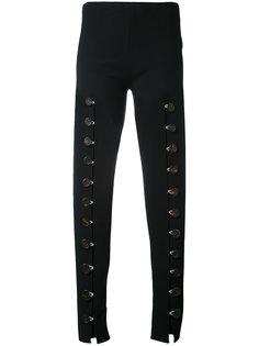 брюки с декоративными застежками спереди A.W.A.K.E. Awake