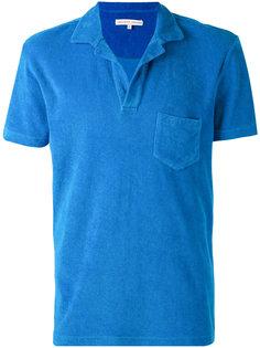 футболка-поло с нагрудным карманом Orlebar Brown