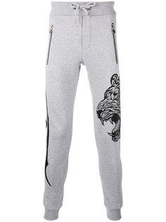 спортивные брюки с вышивкой Philipp Plein