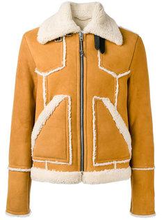 куртка из овчины Coach