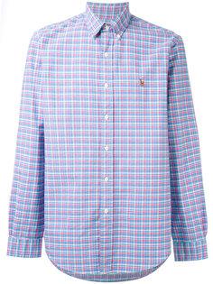 рубашка на пуговицах в клетку Ralph Lauren