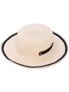 панама с контрастной оторочкой Filù Hats