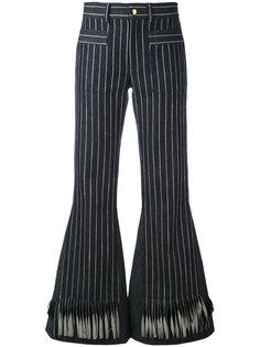 полосатые расклешенные брюки  LAutre Chose