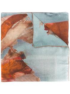 шарф с акварельным узором Dondup