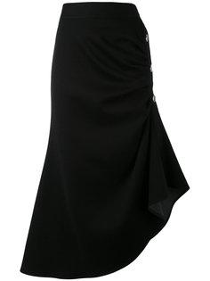 юбка-миди с асимметричным подолом Marni