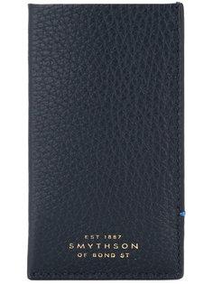 кошелек с тисненым логотипом Smythson