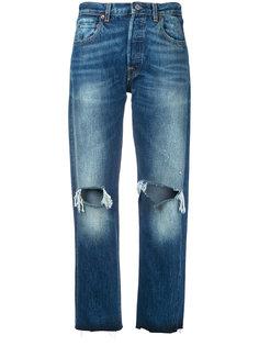 джинсы бойфренда с рваной отделкой Levis Vintage Clothing