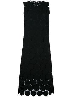 кружевное платье с узором в горох Le Ciel Bleu