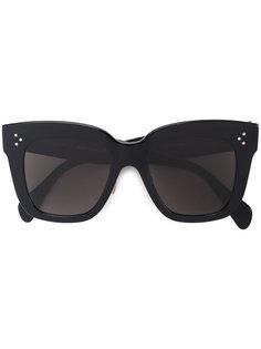 объемные солнцезащитные очки Céline Eyewear