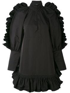 короткое платье с оборками Ellery