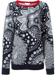 свитер с принтом пейсли  Chloé