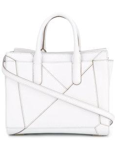 сумка-тоут со сложенным декором Max Mara